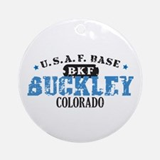 Buckley Air Force Base Ornament (Round)