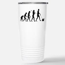 Cute Dog theme Travel Mug