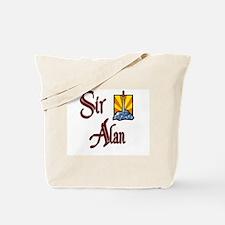 Sir Alan Tote Bag