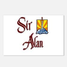 Sir Alan Postcards (Package of 8)