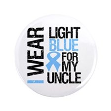 """IWearLightBlue Uncle 3.5"""" Button (100 pack)"""