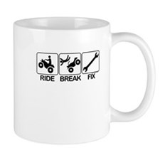ATV, Ride, Break, Fix. ATV Mug