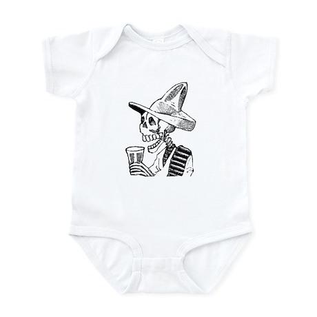 Calavera con Cerveza Infant Bodysuit