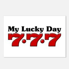 My Lucky Day 777 Postcards (Package of 8)