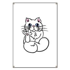 Longhair ASL Kitty Banner