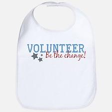 Volunteer Be the Change Bib