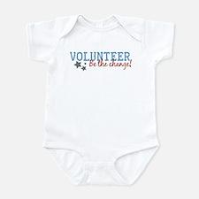 Volunteer Be the Change Infant Bodysuit