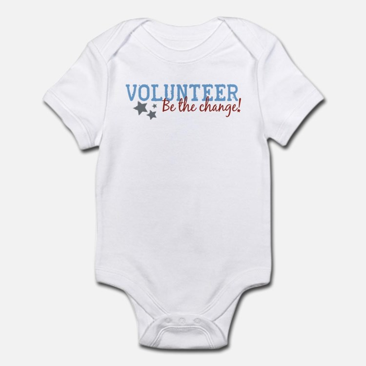 Volunteer Be the Change Infant Bodysuit