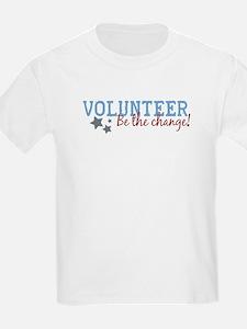 Volunteer Be the Change T-Shirt