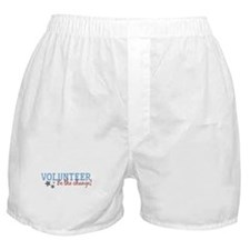 Volunteer Be the Change Boxer Shorts