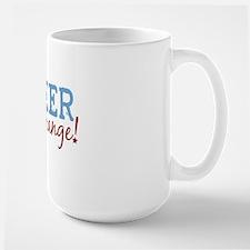 Volunteer Be the Change Ceramic Mugs