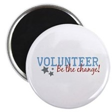 Volunteer Be the Change Magnet