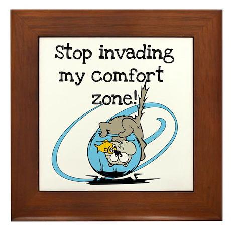 Comfort Zone Framed Tile