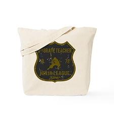 5th Grade Teacher Ninja League Tote Bag