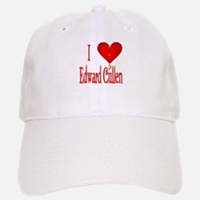 I heart Edward Cullen /red Baseball Baseball Cap