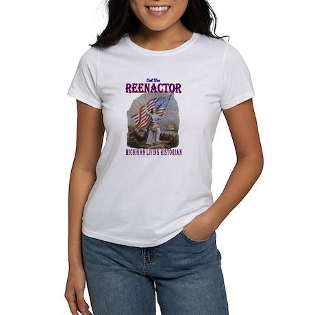 MIchigan Reenactor Women's T-Shirt