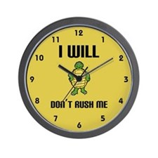 I Will Wall Clock