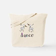 Dance Bird Tote Bag