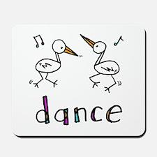Dance Bird Mousepad