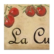 La Cucina Kitchen Art Tile Set (1 of 2 tiles)