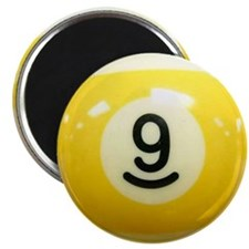Cute Nine ball Magnet
