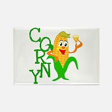 Corny Rectangle Magnet