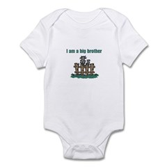 Fence Cats Big Brother Infant Bodysuit