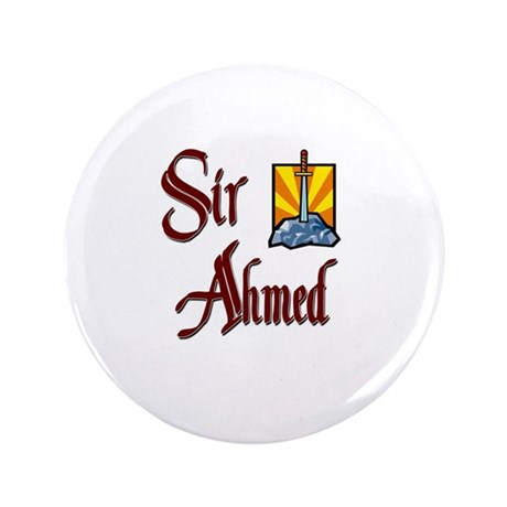 "Sir Ahmed 3.5"" Button"