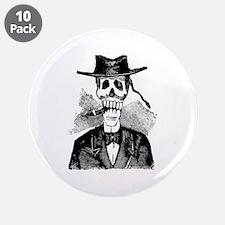"Torero Calavera 3.5"" Button (10 pack)"