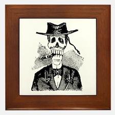 Torero Calavera Framed Tile
