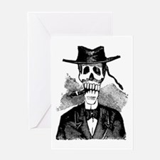 Torero Calavera Greeting Card