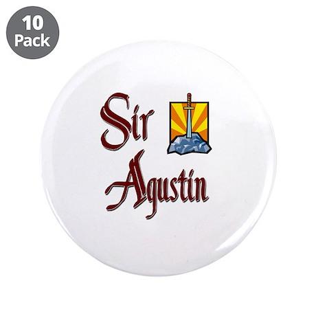 """Sir Agustin 3.5"""" Button (10 pack)"""