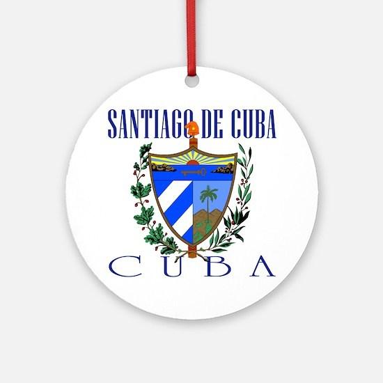 Santiago de Cuba Ornament (Round)