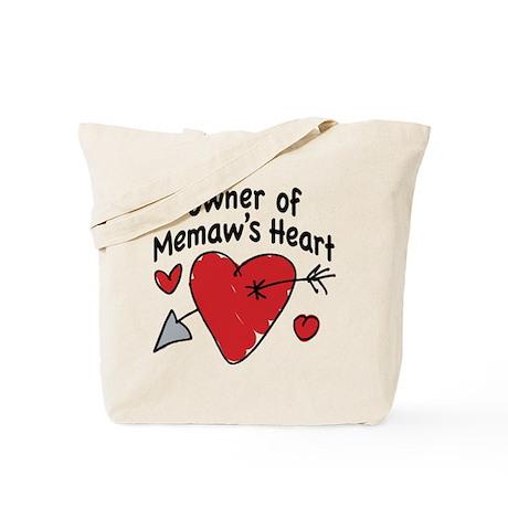 OWNER OF MEMAW'S HEART Tote Bag
