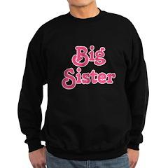 Pink Big Sister Sweatshirt
