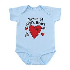 OWNER OF GIGI'S HEART Infant Bodysuit