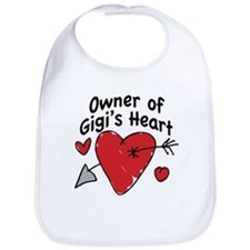 OWNER OF GIGI'S HEART Bib