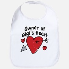 OWNER OF GIGI'S HEART Bib