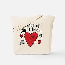 OWNER OF GIGI'S HEART Tote Bag