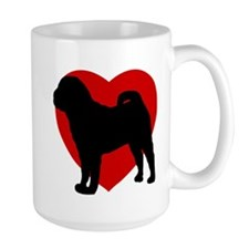 Shar Pei Valentine's Day Mug