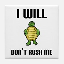 I Will Tile Coaster