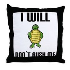 I Will Throw Pillow