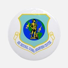 Air National Guard Ornament (Round)