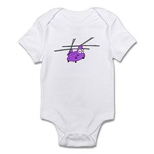 CH-47 Purple Infant Bodysuit