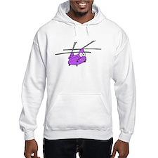 CH-47 Purple Hoodie