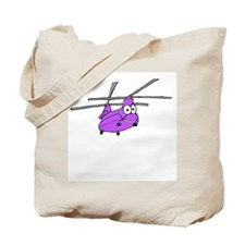 CH-47 Purple Tote Bag