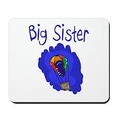 Hot Air Balloon Big Sister Mousepad