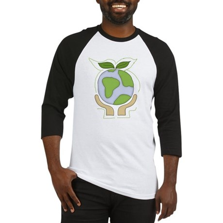 Earth in Our Hands Baseball Jersey