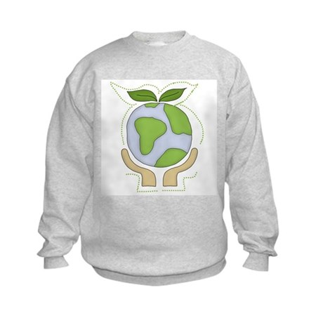 Earth in Our Hands Kids Sweatshirt