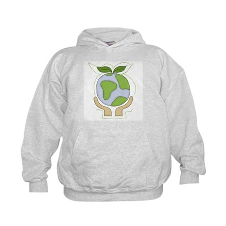 Earth in Our Hands Kids Hoodie